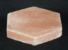 六角形岩塩ピンク