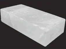 岩塩レンガ 乳白色